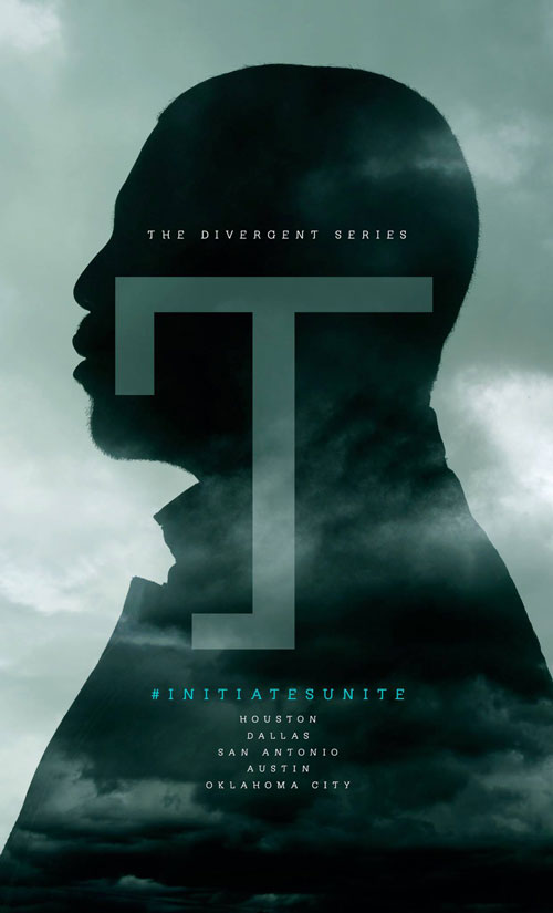 Poster from the Divergent film series