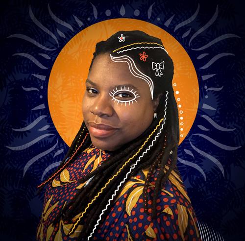 Portrait of Kareen Cox