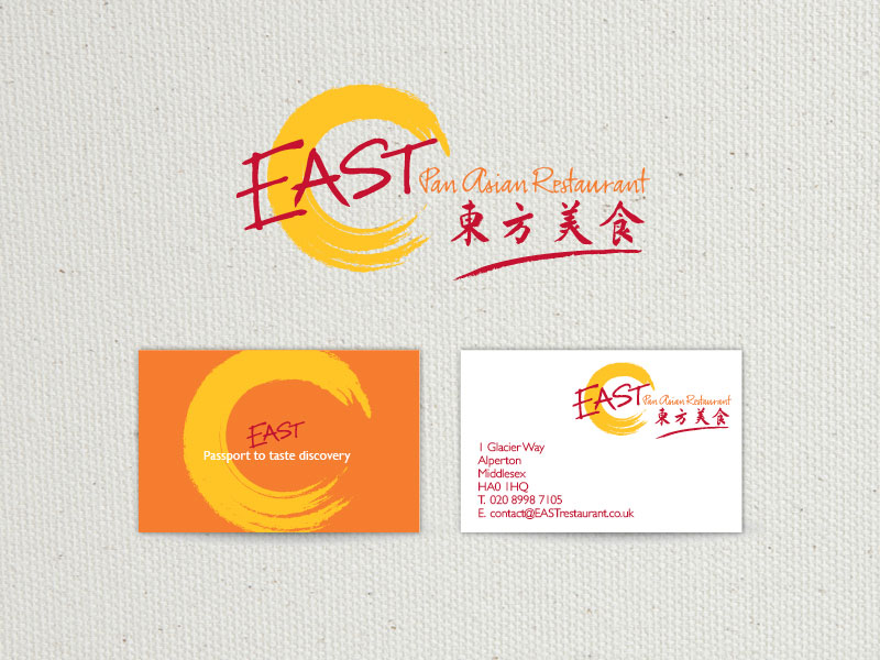 East: Pan Asian Restaurant logo
