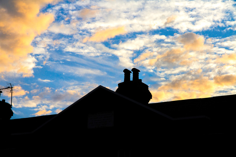 Wright Houses silhouette