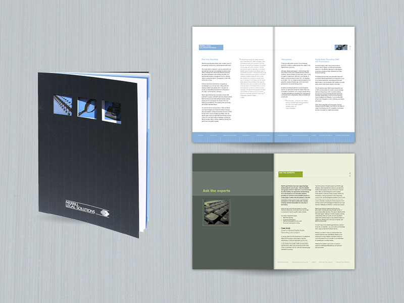 Merrill Legal Solutions brochure