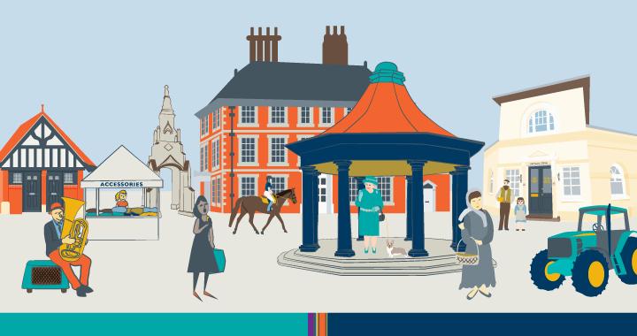 Blog header for The Trust marketing illustrations